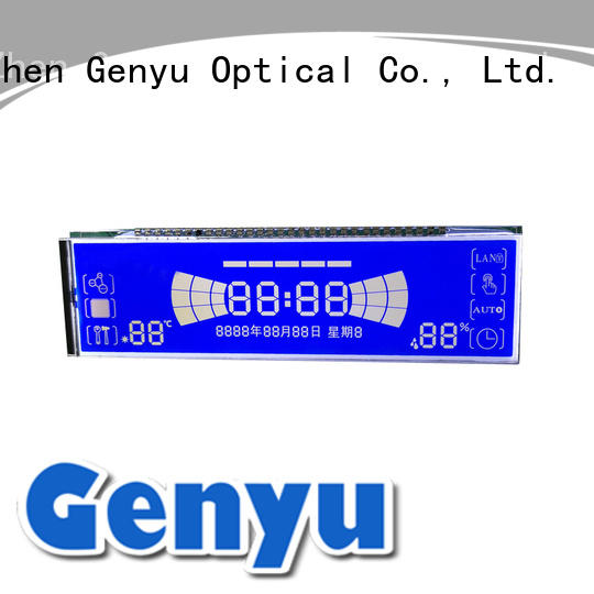 display segment lcd screen manufacturer exporter for electricity Genyu