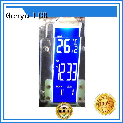 Genyu Latest custom size lcd for home appliances