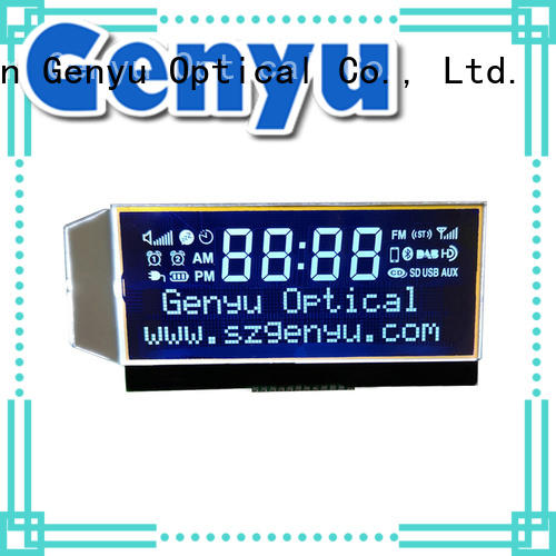 Genyu new design customized lcd panel screen for home appliances
