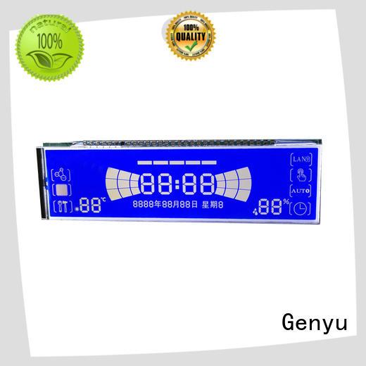 Genyu Custom 7-segment lcd module company for electricity