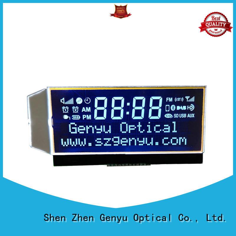Genyu High-quality custom size lcd company for meter