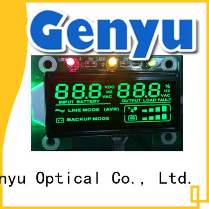 Genyu new design custom size lcd gy02867 for instrumentation