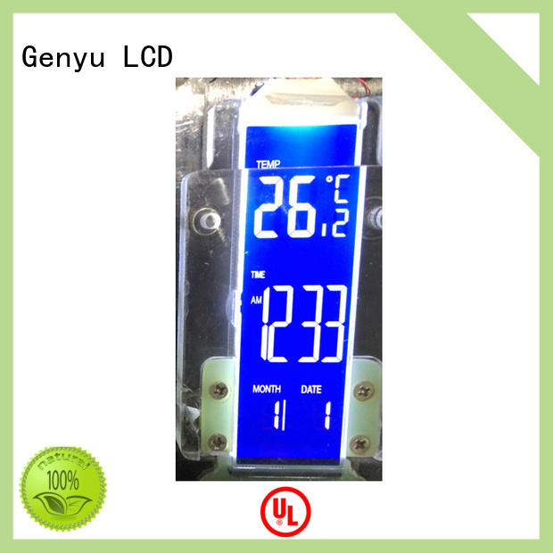Genyu gy5626a01 segment lcd display manufacturers for laser